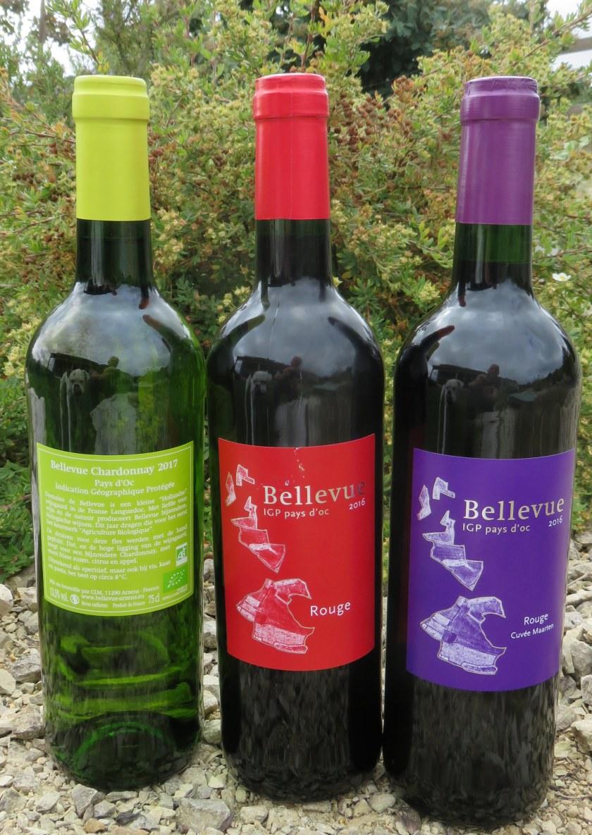 The 3 Bellevue wines